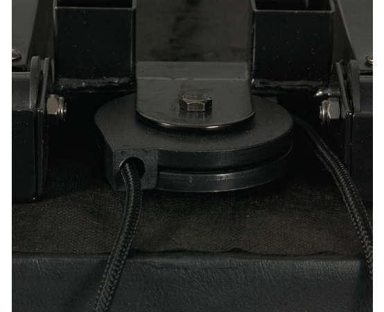 Sealed bottom pulley